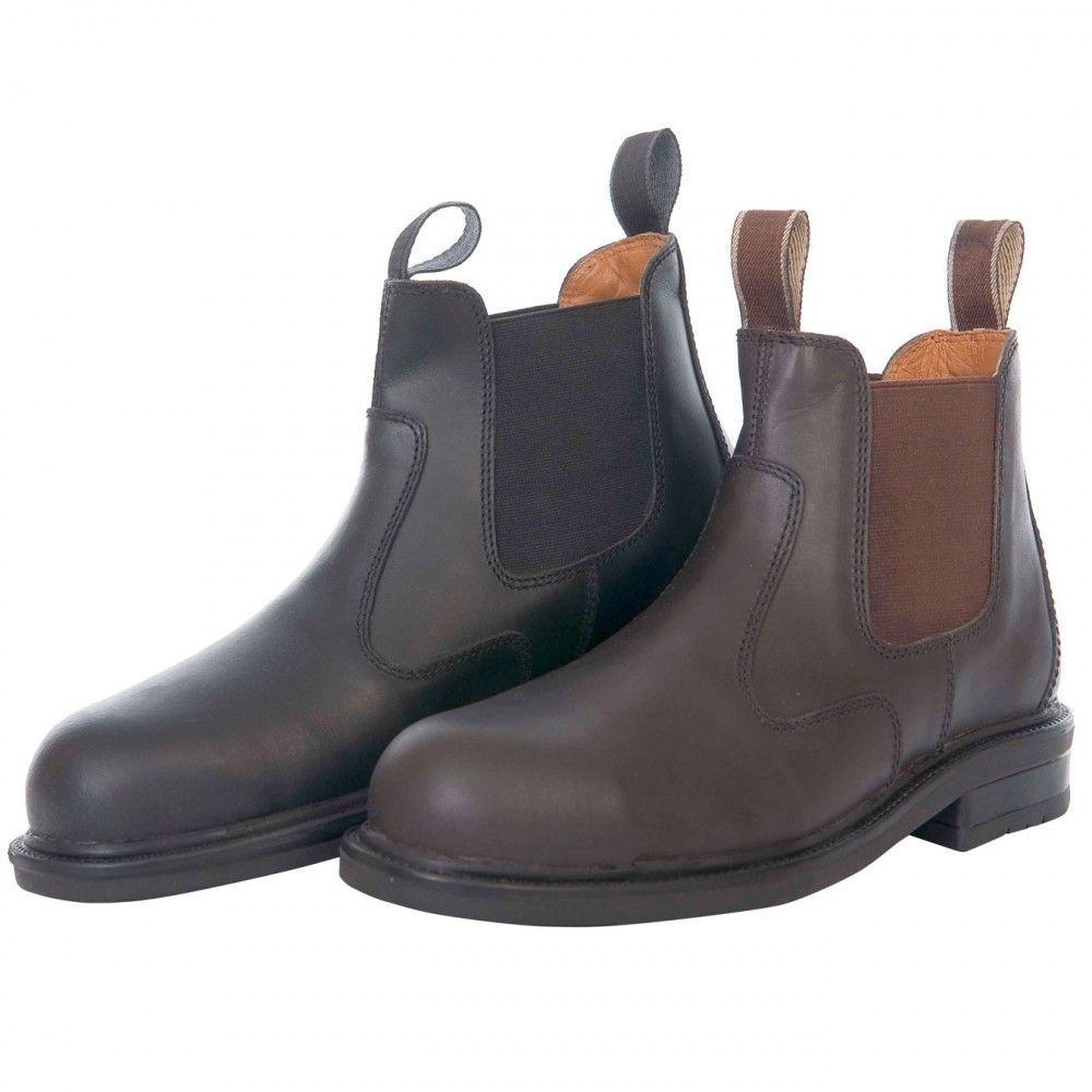 Loveson Emerald Safety Jodhpur Boot Black